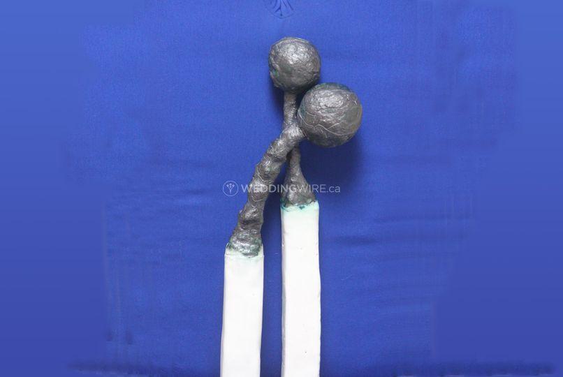The Best Match Sculpture