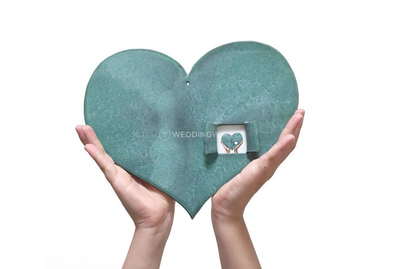 Heart Picture Frame With Love