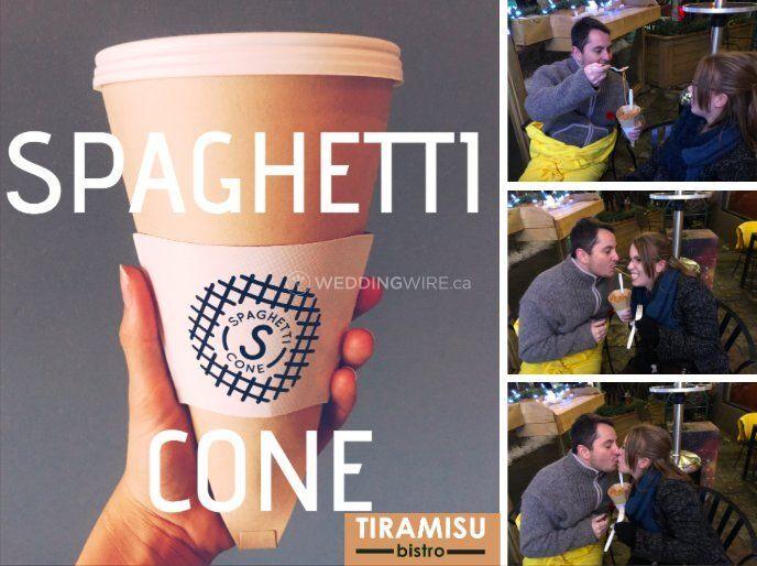 Midnight Spaghetti Cones