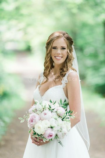 Breathtaking bride
