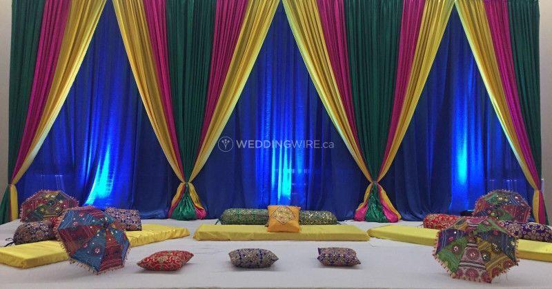 Ladies Sangeet Setup!
