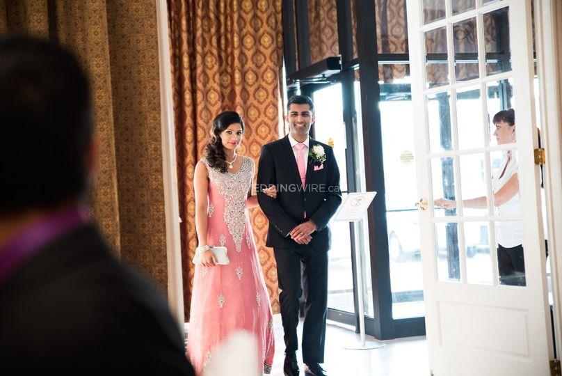 Sharmeen and Alykhan wedding