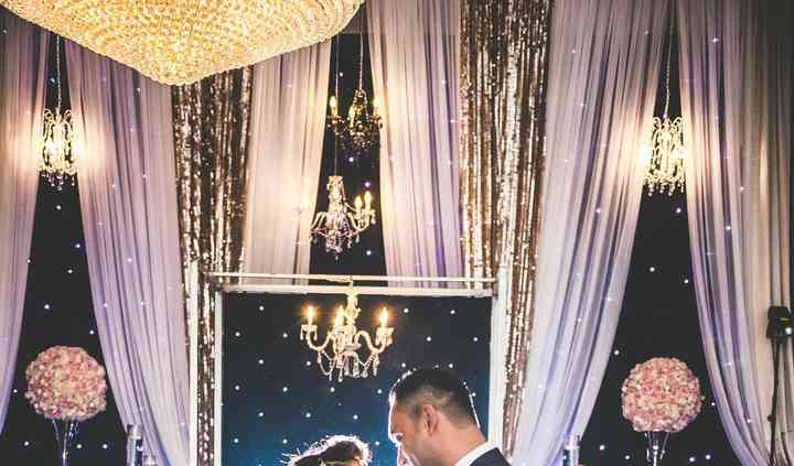Great Gatsby wedding reception