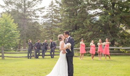 The wedding of Vanessa and Carl