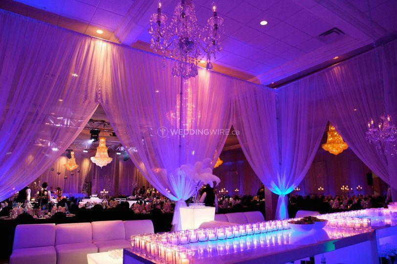 Laval Quebec wedding reception hall