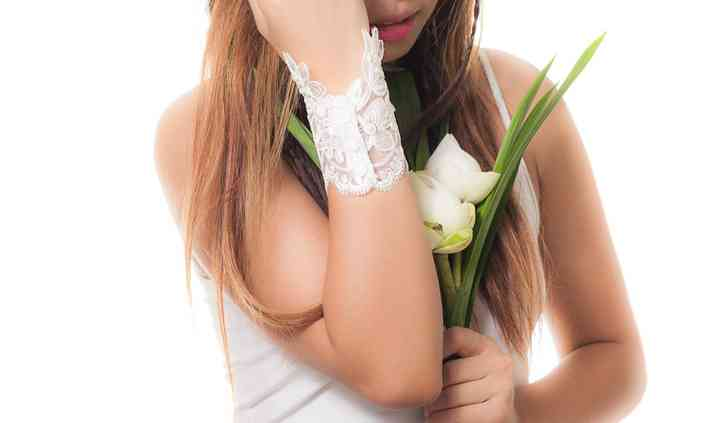 Beaded Lace Bridal Cuff