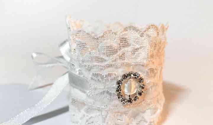 Lace Wedding Cuff Bracelet