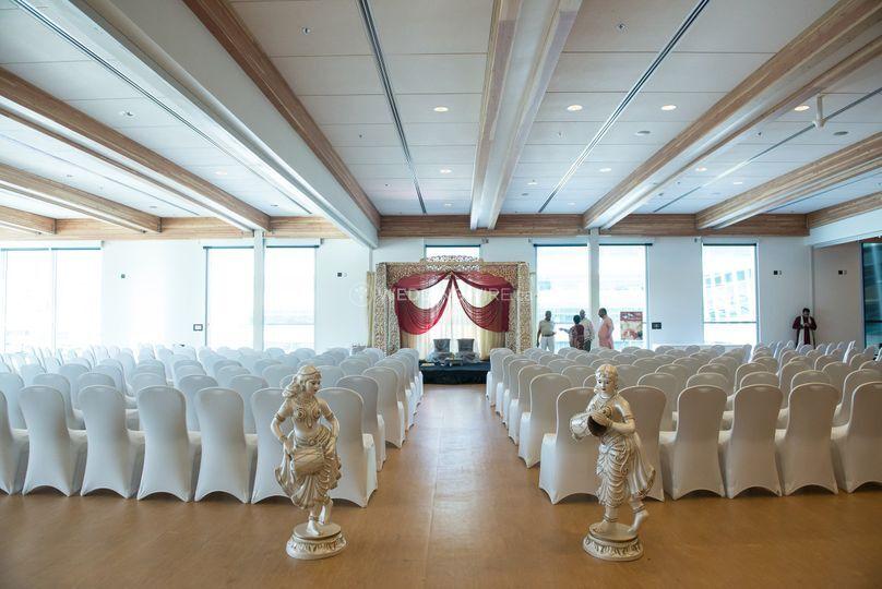 Ceremony in Multipurpose Room