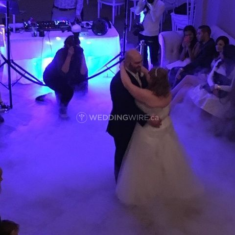 1st Dance w/ Low Lying Fog