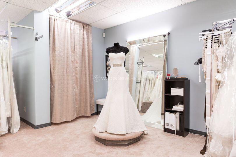 Bridal Change Area
