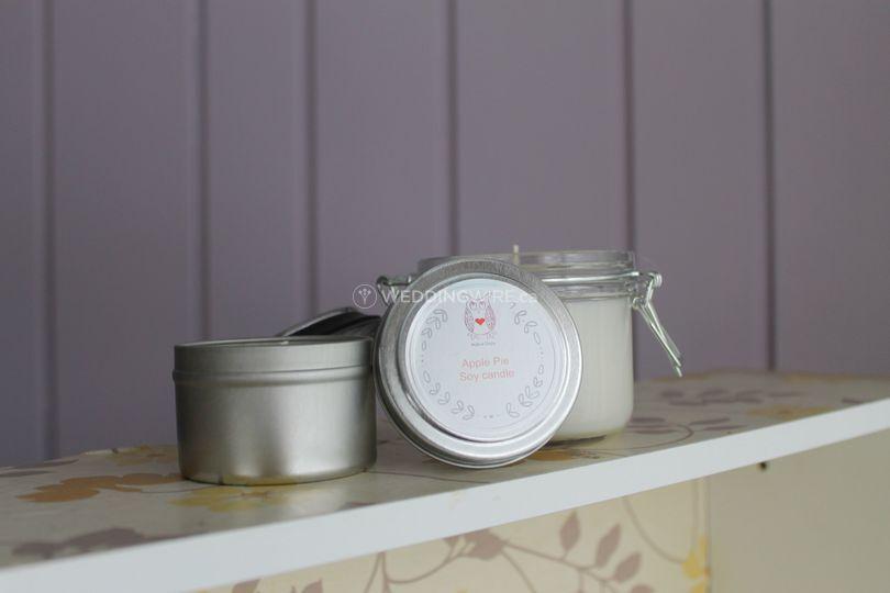 Tin/Masson Jar Soy Candle