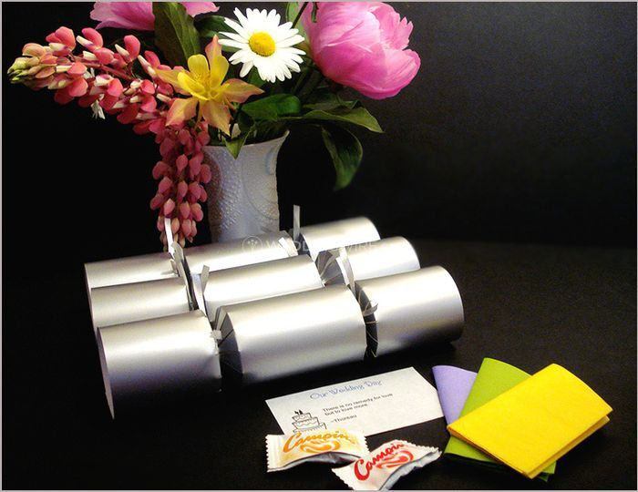 Filled Silver Wedding Crackers