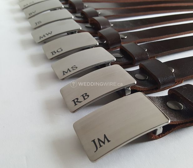Iron Art Canada - Groomsmen Gifts