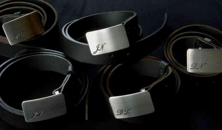Ontario Monogrammed Buckles & Belts