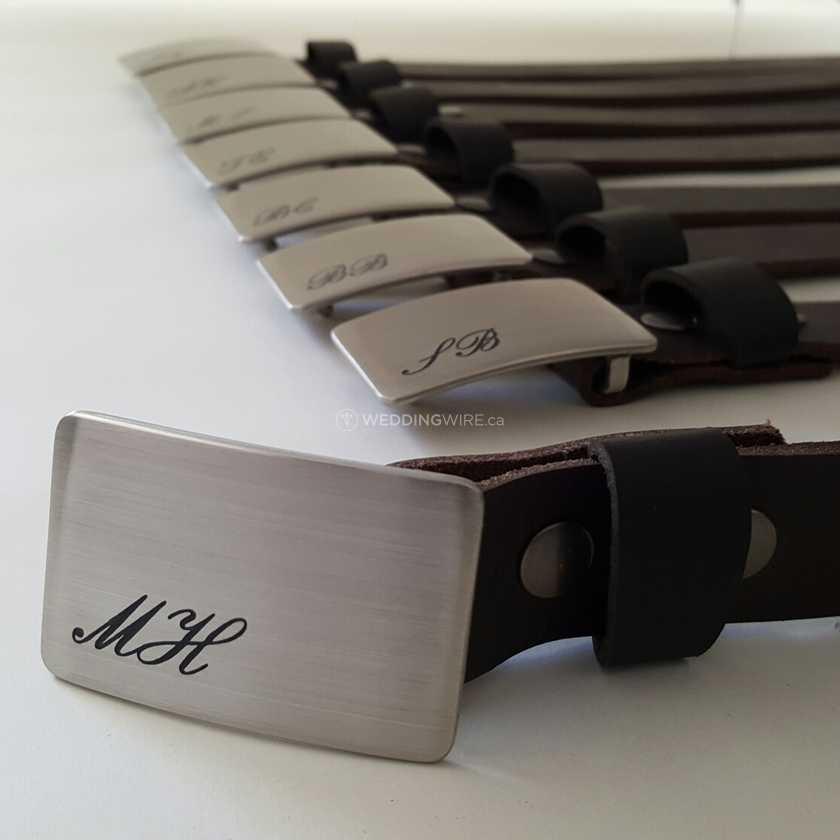 Personalized Groomsmen's Gifts