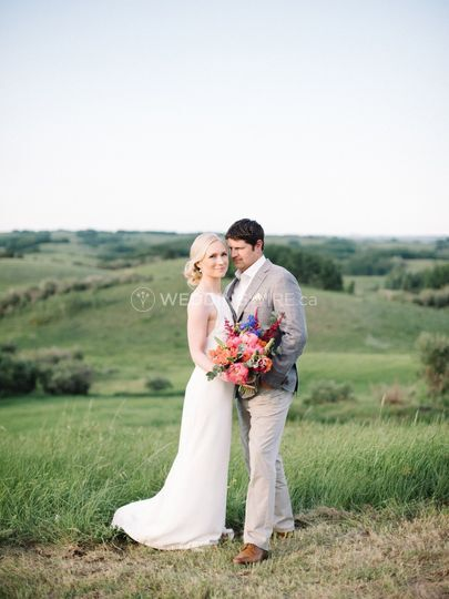 Country wedding in Bearspaw,