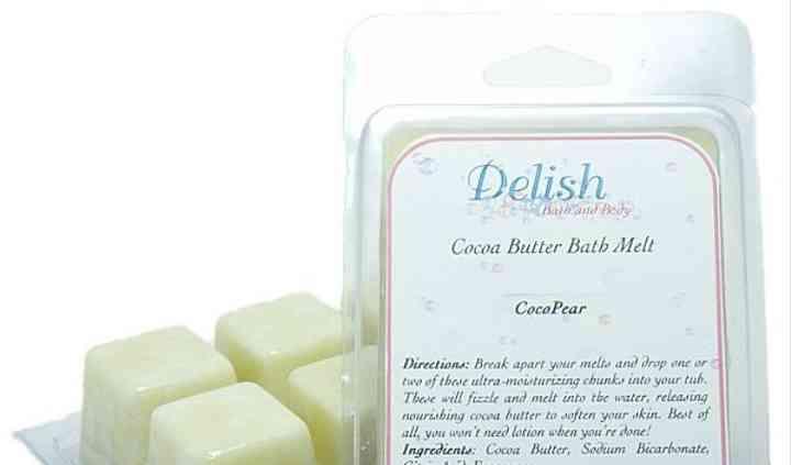 Cocoa Butter Bath Melt