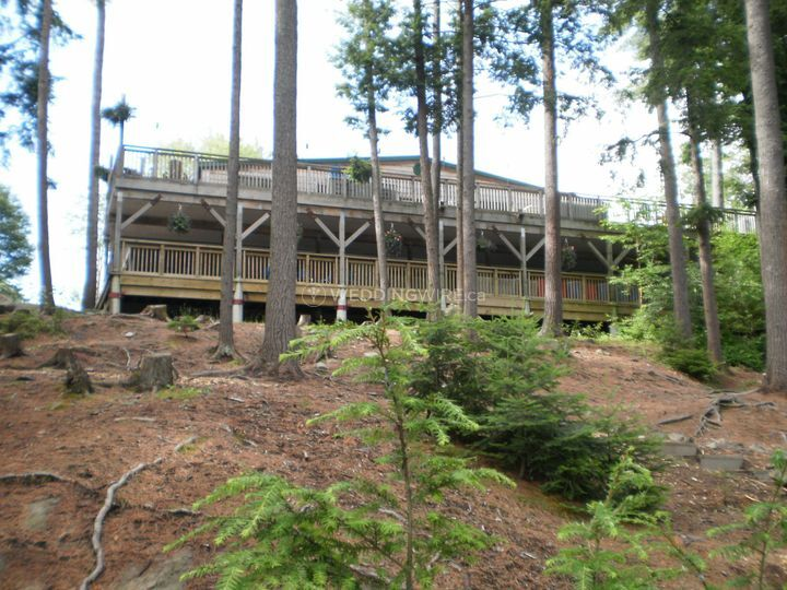 Back of pine hall