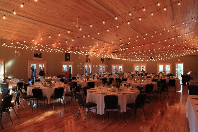Pavillion reception hall