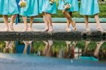Hawaii bridesmaids reflection