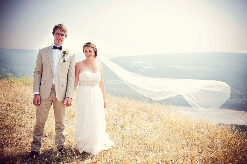 Kelowna, British Columbia wedding couple