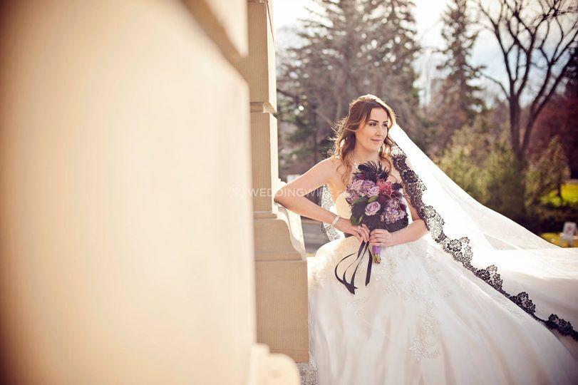 Kelowna, British Columbia bride