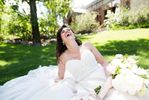 Candids of the bride having fu