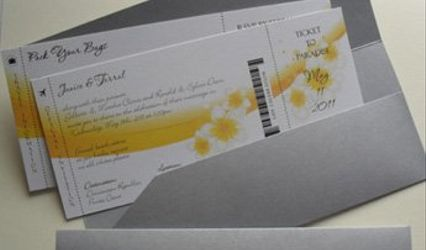With Your Touch Invitations