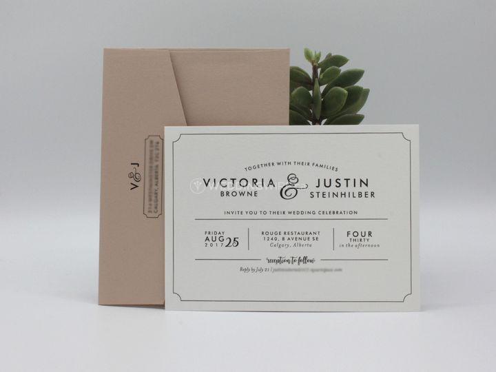 Modern Invite