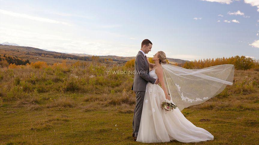 Southern Alberta Wedding