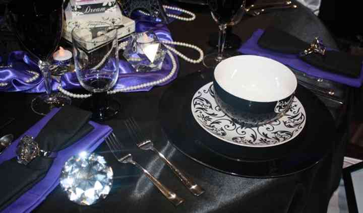 Evelyn Atwood's Crystallized Wedding Decor Design