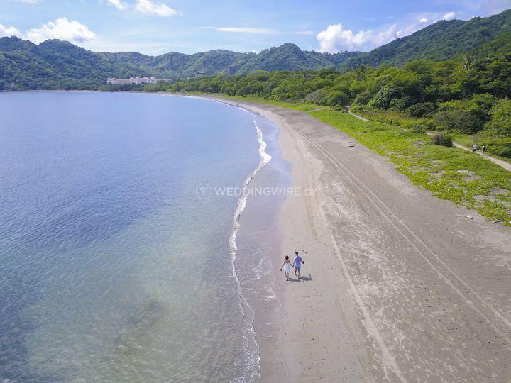Aerial in Costa Rica