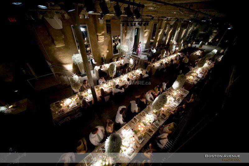Toronto, Wine cellar reception, dark lit