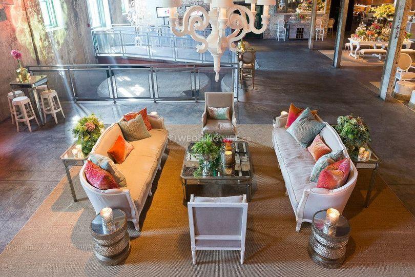 Toronto wine cellar wedding reception