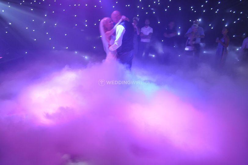 Dry Ice wedding 2