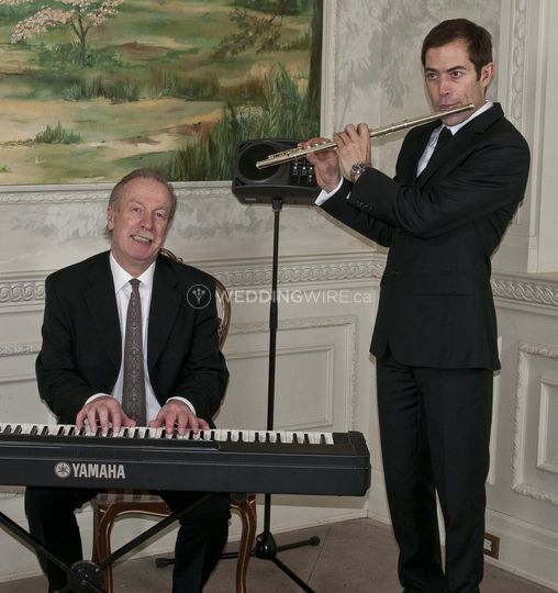 Piano and flute for ceremony