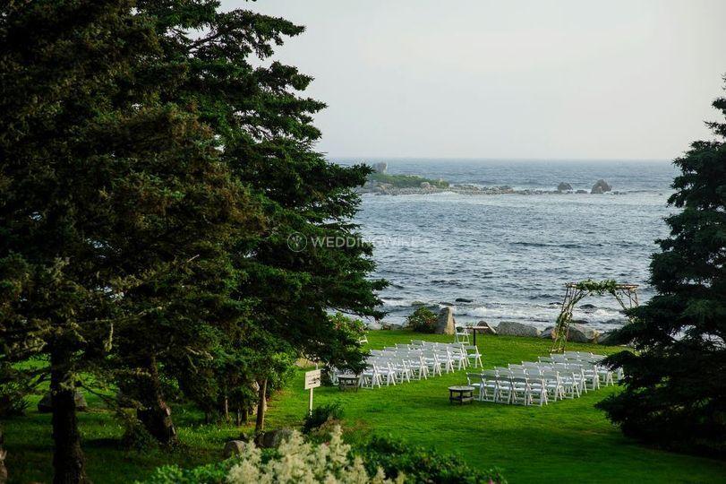 Indian harbour, nova scotia wedding venue