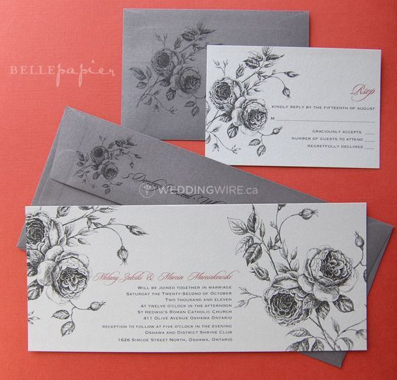 Belle Papier Invitations + Stationery Design