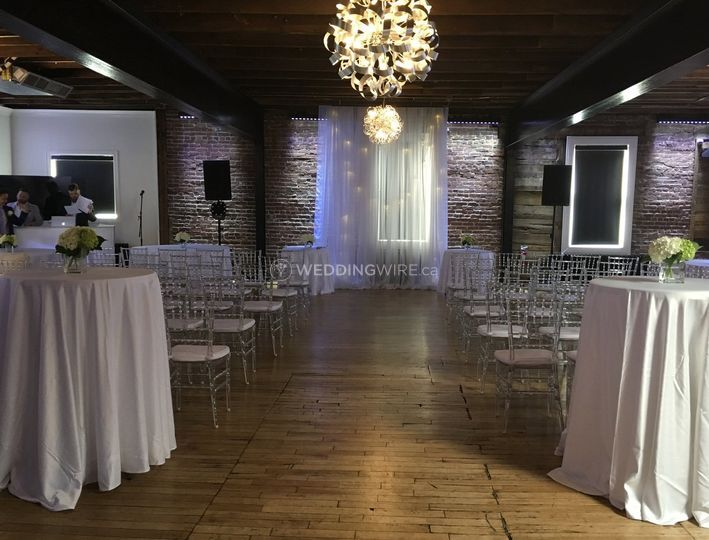 Canvas Montreal, wedding