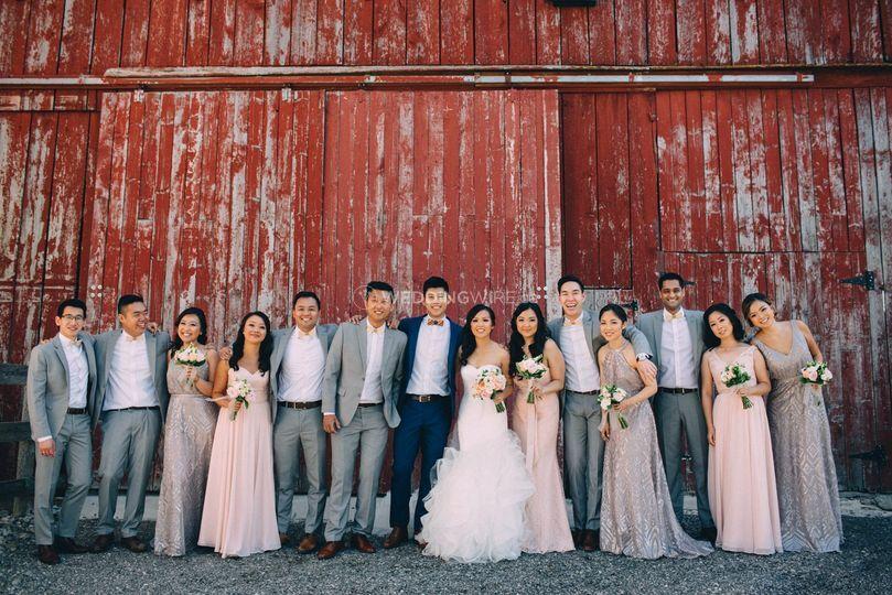 Wedding party - vulturesuits