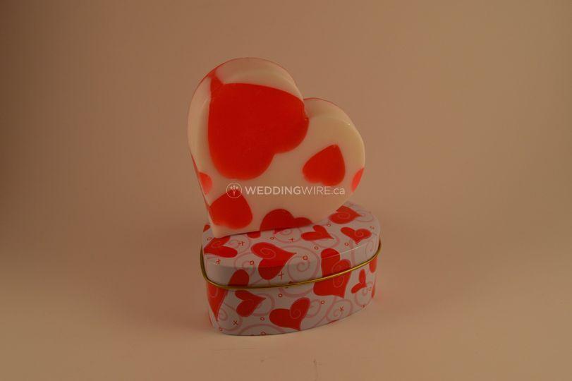 Heart of My Heart Soap