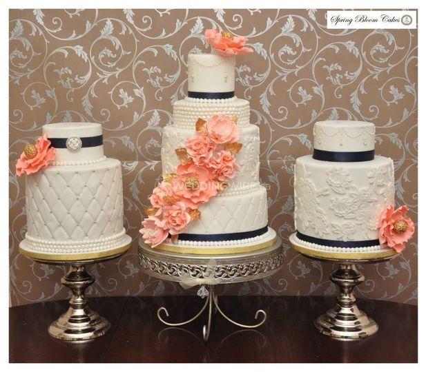 Spring Bloom Cakes