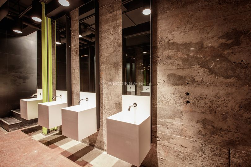The Great Hall's bathrooms