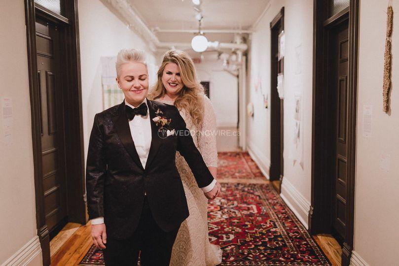 Real Weddings Archeo: Gladstone Hotel