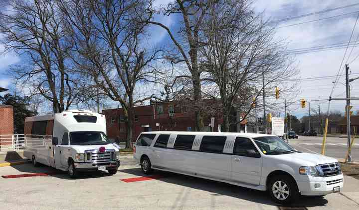 Bus and Limousine Combo