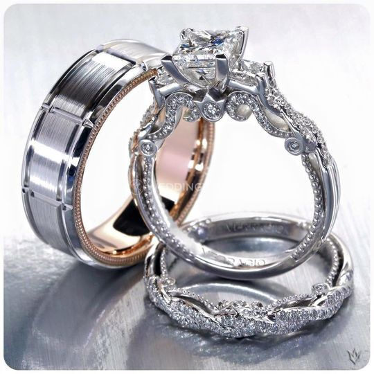 Edmonton, Alberta wedding ring, Verragio of New York