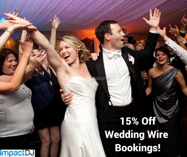 15% Off Wedding Wire Bookings