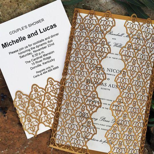 Moorish Leaves Laser-cut