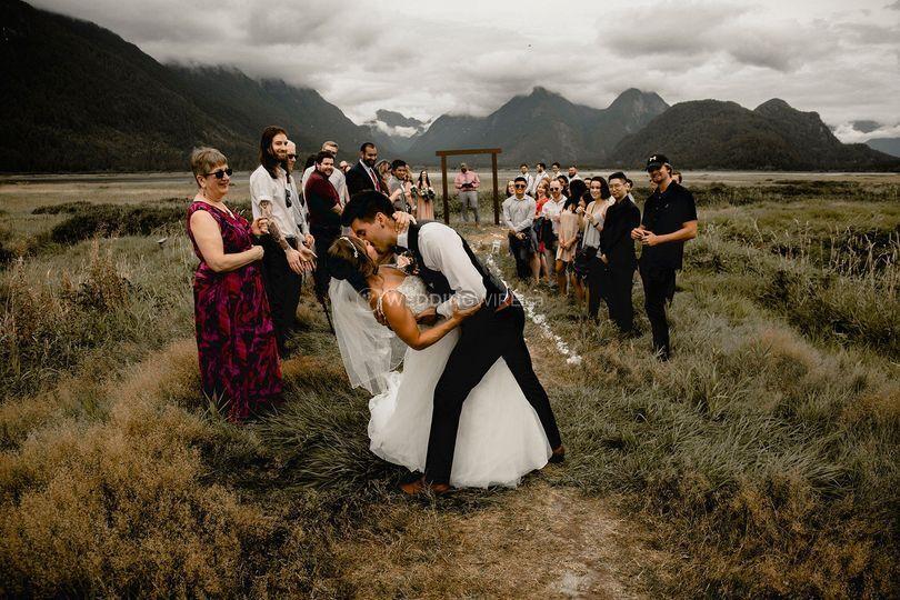 Pitt Lake Wedding