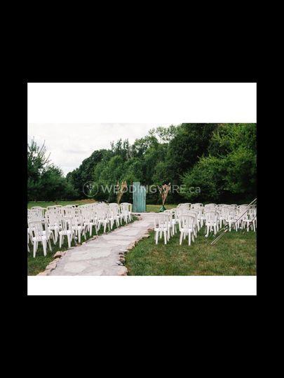 Broken Barn Door Ceremony Site
